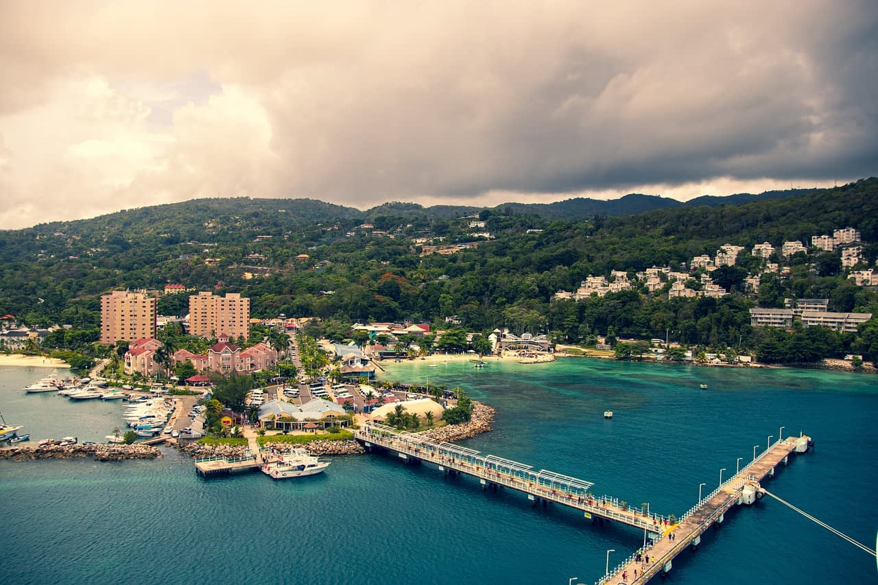 Jamaica from above